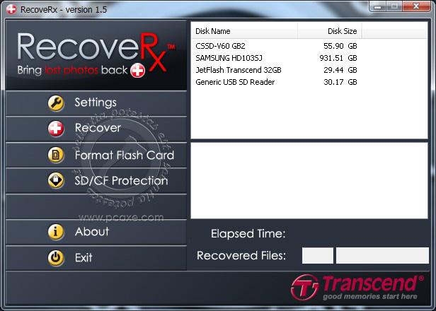 Transcend RecoveRX U1