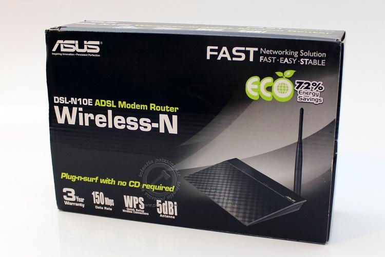 ASUS DSL-N10E Wireless-N150 U1