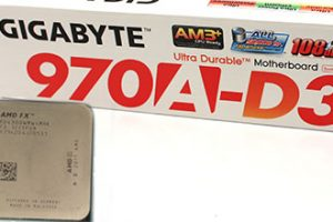 Gigabyte 970A-D3 AMD FX4300