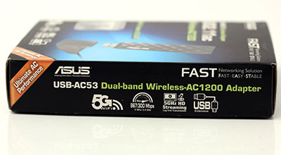 ASUS USB-AC53 Dual Band Wireless AC-1200 Adapter