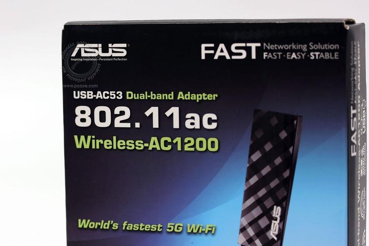 ASUS USB-AC53 Dual Band Wireless AC-1200 Adapter U1