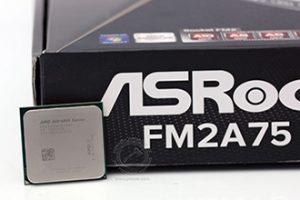 AMD Richland ASRock FM2A75 Pro4