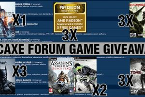 PCAXE Forum game giveaway dobitnici
