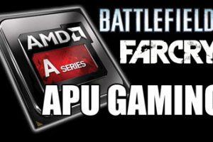 APU Gaming Battlefield 4 FarCry 3