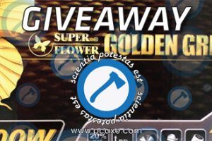 PCAXE Super Flower Giveaway