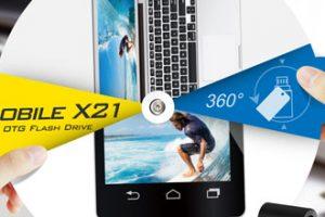 SPUSB 2.0 OTG Flash Drive Mobile X21
