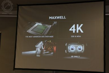 NVIDIA Maxwell Game Advanced 025 T