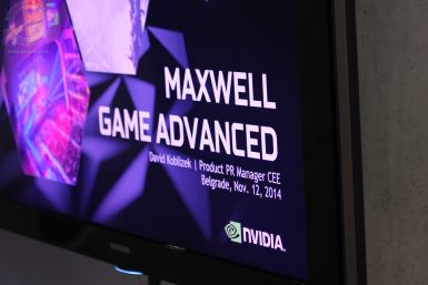 NVIDIA Maxwell Game Advanced 032 T