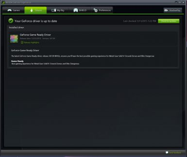 NVIDIA GEFORCE EXPERIENCE 001 T