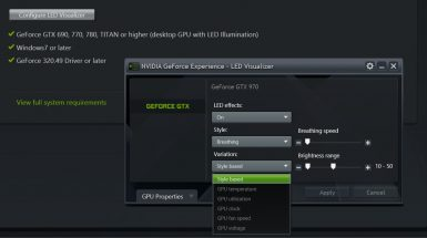 NVIDIA GEFORCE EXPERIENCE 007 T