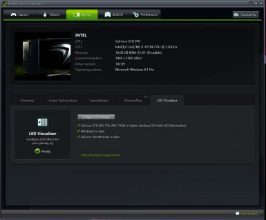 NVIDIA GEFORCE EXPERIENCE 008 T