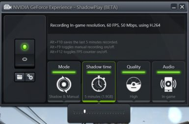 NVIDIA GEFORCE EXPERIENCE 017 T