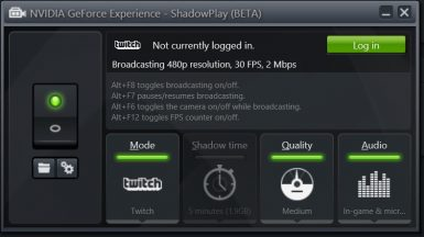 NVIDIA GEFORCE EXPERIENCE 021 T