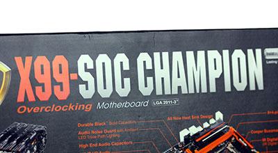 Gigabyte X99 SOC Champion