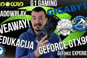 NVIDIA GIGABYTE GTX960 GIVEAWAY edukacija