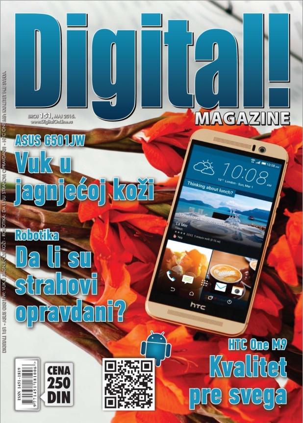 digital 151 naslovna