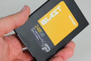 Patriot Blast SSD