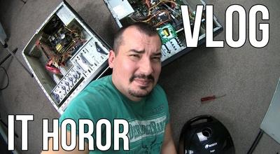 IT horor vlog 1