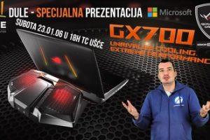 ASUS GX700 prezentacija