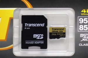 Transcend Ultimate microSDXC 633X