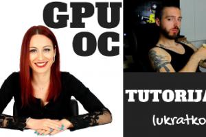 OC tutorijal za graficke karte