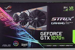 ASUS ROG Strix GTX1070Ti