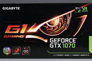 Gigabyte GTX1070 G1 Gaming
